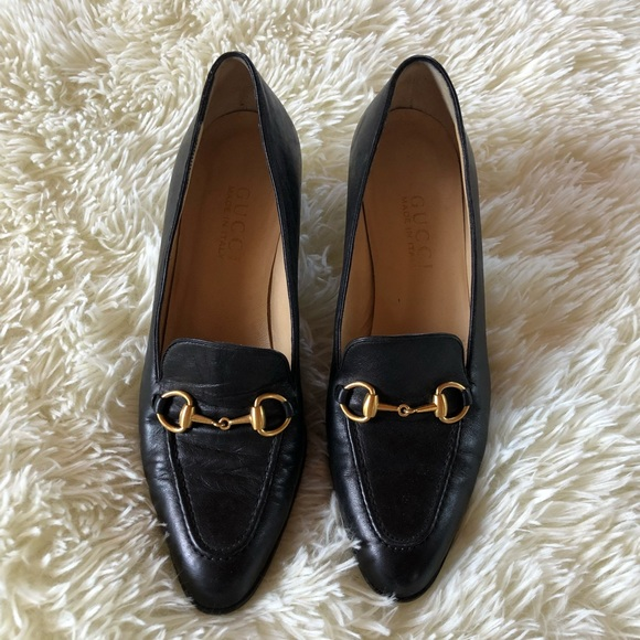 Gucci Shoes - Gucci Heeled Loafers